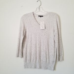 NWT Jeanne Pierre Cashmere Infused sweater, Size S